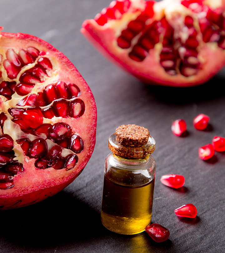 8 Amazing Benefits Of Pomegranate Seed Oil For Skin, Hair And Health