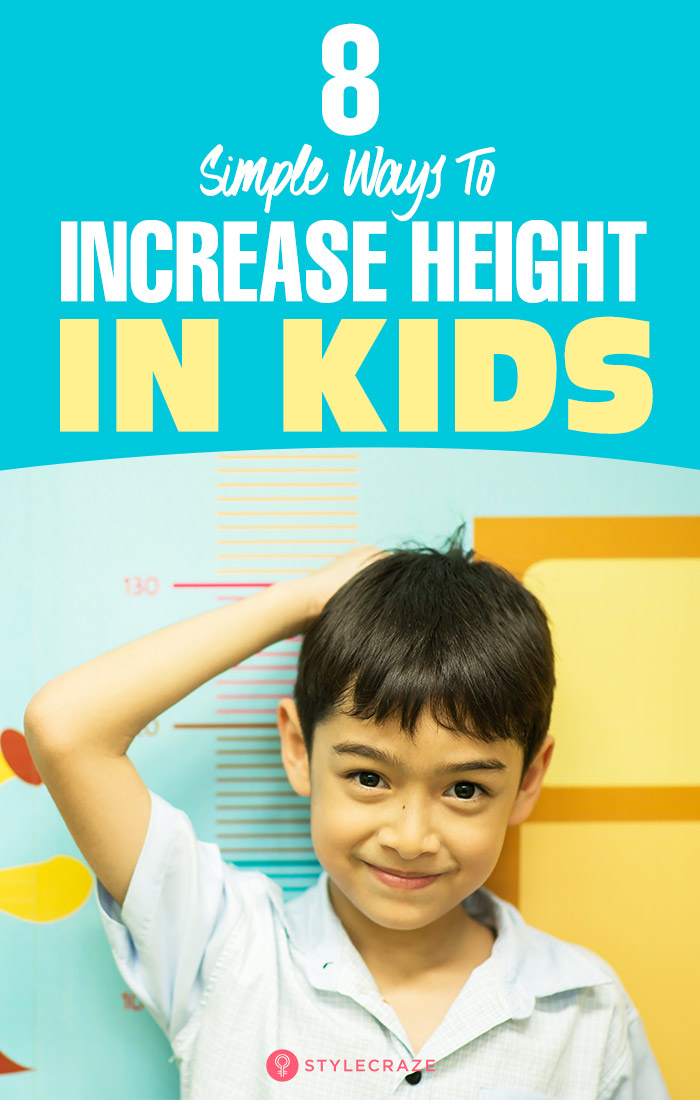 8 Simple Ways To Increase Height In Kids