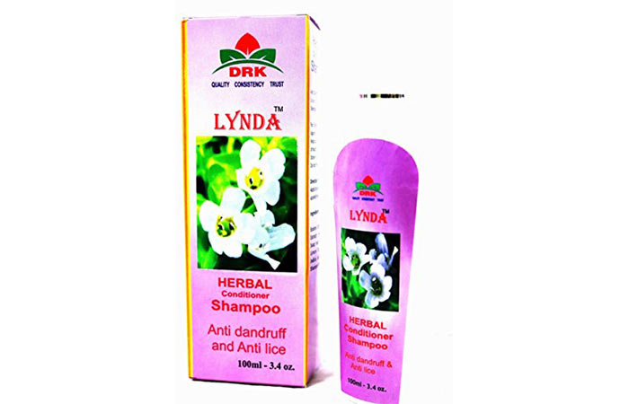 8. Lynda Herbal Conditioner Shampoo