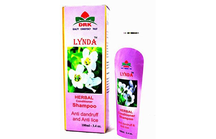 8. Lynda Herbal Conditioner Shampoo