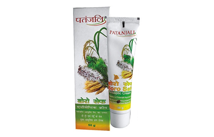 8. Patanjali Boro Safe Antiseptic Cream
