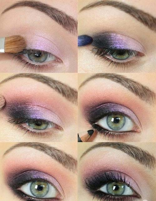 8. Plum Smokey Eye Makeup Tutorial