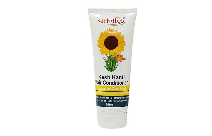 9. Patanjali Damage Control Hair Conditioner