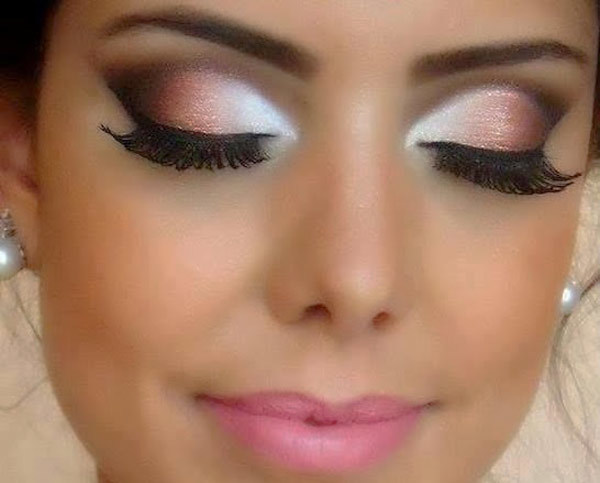A Wedding Day Eye Makeup Look