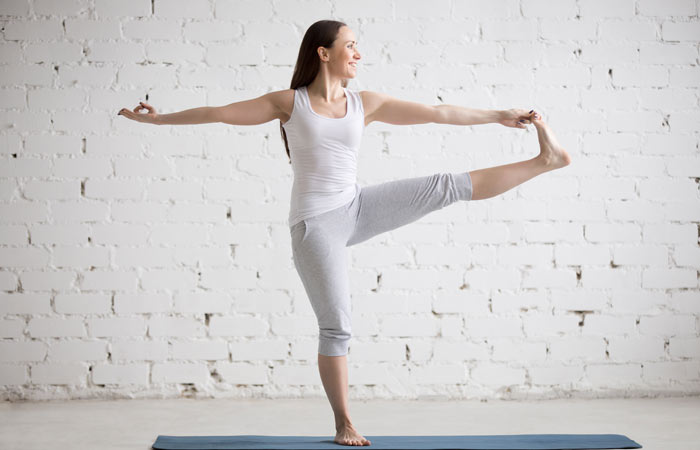 Extended Hand-To-Big-Toe Yoga Pose: Step-by-Step Instructions