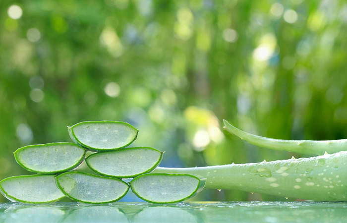 Image result for black woman with aloe vera