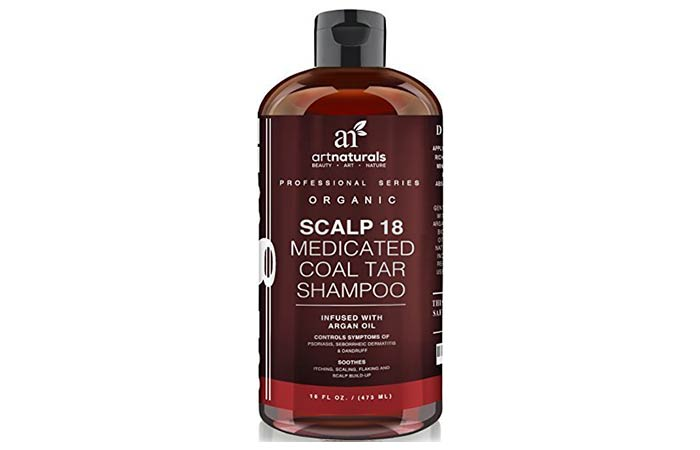 Art Naturals Scalp 18 Medicated Coal Tar Shampoo