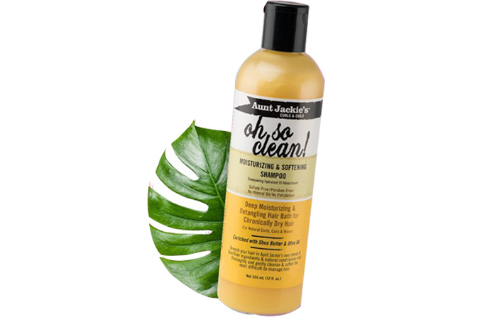 Aunt Jackie's Oh So Clean Moisturizing Softening Shampoo