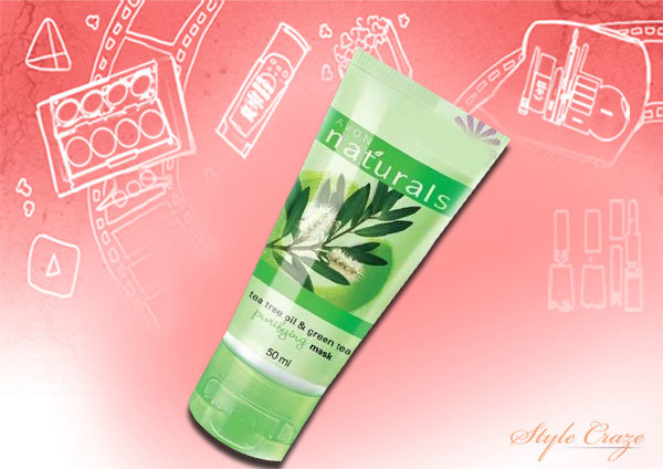 Avon Naturals Tea Tree Oil and Green Tea Purifying Face Wash