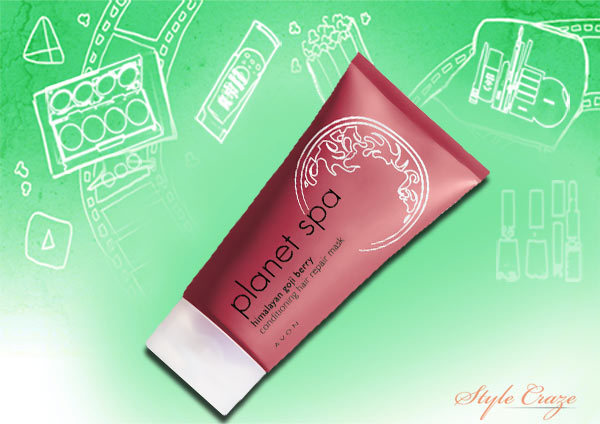 Avon Planet Spa Himalayan Goji Berry Conditioning Hair Repair Mask