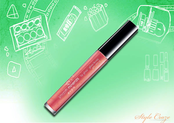 Avon Smooth Mineral Lip Gloss-Natural Glow