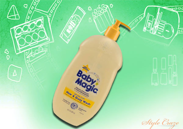Baby Magic Blossoms Hair and Body Wash