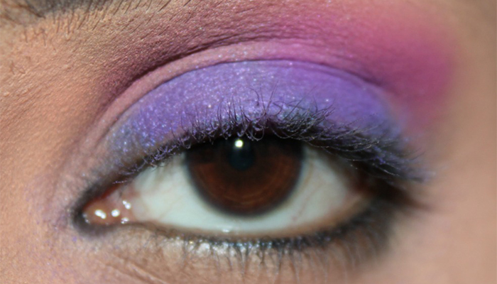 Beautiful Eye Makeup Tutorial Inspired By Radiant Orchid4