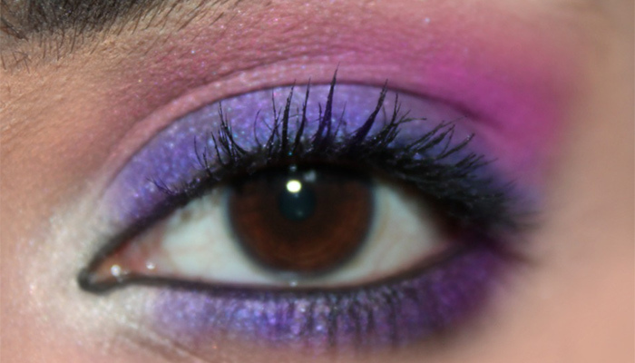 Beautiful Eye Makeup Tutorial Inspired By Radiant Orchid5