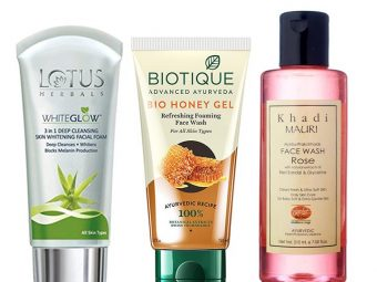 Best Herbal And Ayurvedic Face Washes Available In India – Our Top 10