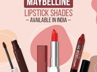 Best Maybelline Lipstick Shades