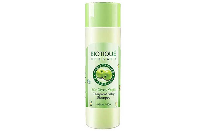 Biotique Bio Green Apple Tearproof Baby Shampoo