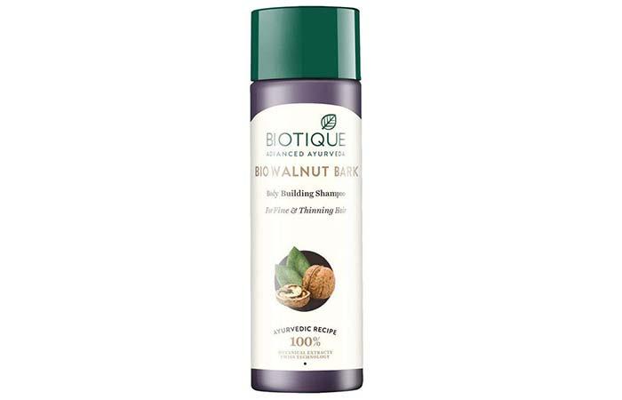 Biotique Bio Walnut Bark Body Building Shampoo