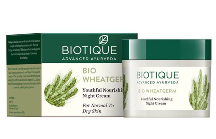 Biotique Bio Wheat Germ Youthful Nourishing Night Cream