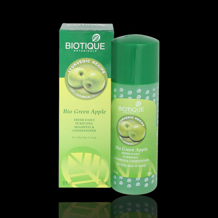 Biotique Green Apple Purifying Shampoo & Conditioner