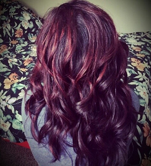 How to pick the right hair color for your skin tone black or deep brown with burgundy pmusecretfo Choice Image
