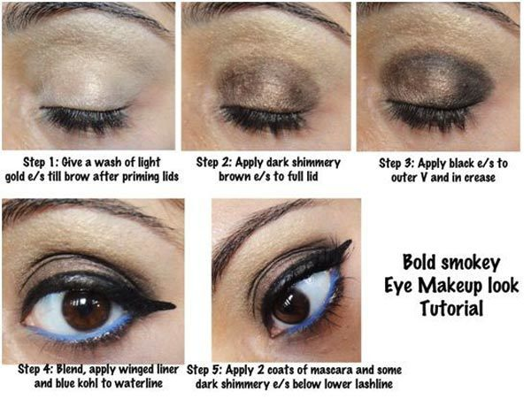 Bold Smoky Eye Makeup Tutorial