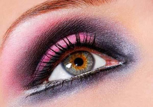 Bright Shaded Smoky Purple Eyes