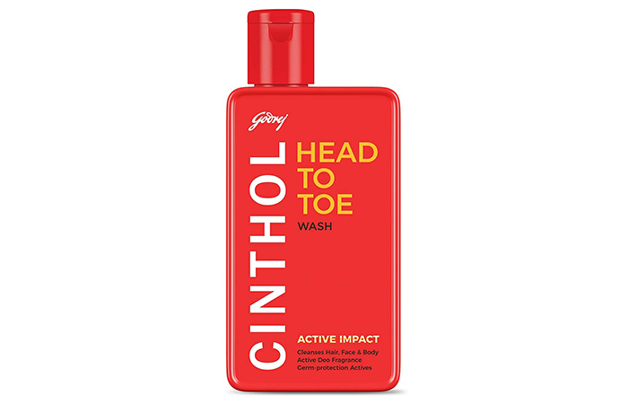 Cinthol Head To Toe Wash - Active Impact
