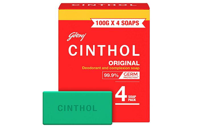 Cinthol Original Deodorant and Complexion Soap
