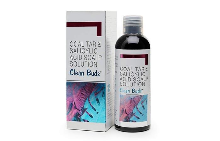 Clean Buds Coal Tar Salicylic Acid Scalp Shampoo