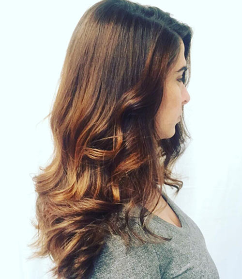How to pick the right hair color for your skin tone dark brown with caramel pmusecretfo Gallery