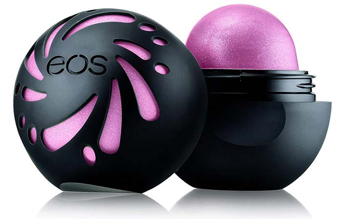EOS Shimmer Lip Balm: Sheer Pink - EOS Lip Balms