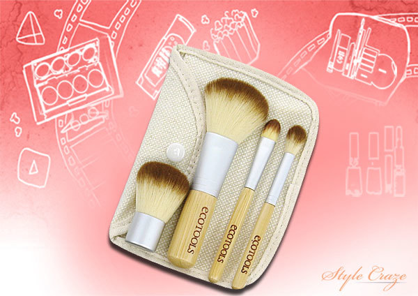 8. Ecotools Mineral 5 Piece Brush Set - Best Makeup Brush Kit in India