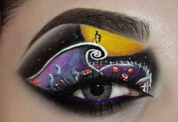 Exotic Painted Eyes