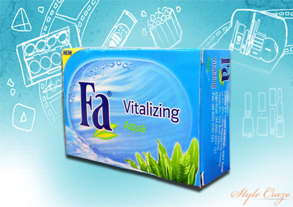 Fa Aqua Vitalizing Bar Soap
