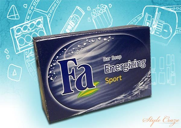 Fa Energizing Bar Soap