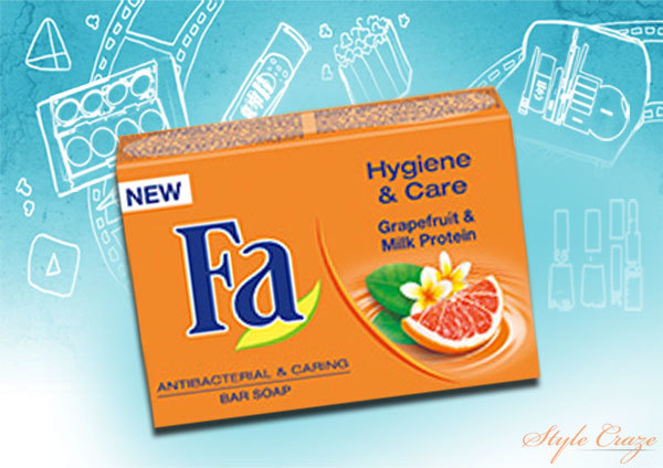 Fa Hygiene & Care Grapefruit & Milk Protein Bar Soap