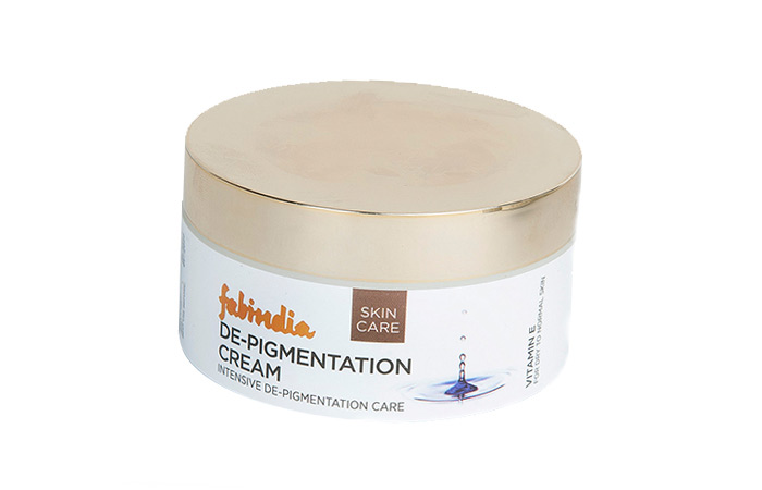 Pigmentation Creams - Fabindia Vitamin DE Pigmentation Cream