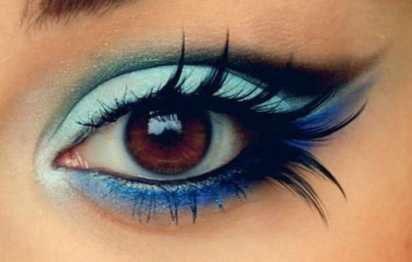 Fluttering Day Eye Makeup Look