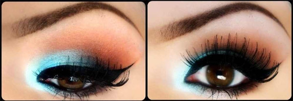 Fluttering Doll Eye Makeup Look