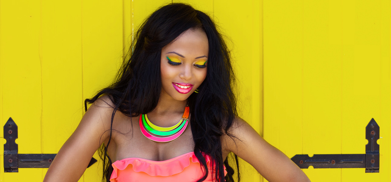 Fun-And-Bright-Neon-Makeup-Tutorial