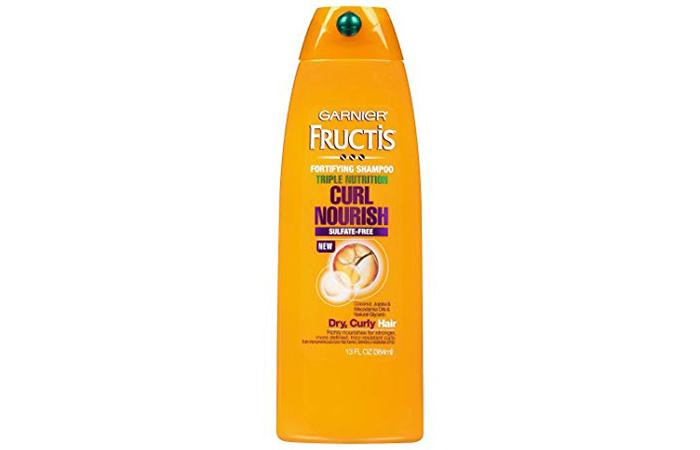 Garnier Fructis Triple Nutrition Curl Moisture Fortifying Shampoo