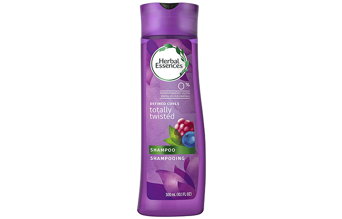 Herbal Essences Totally Twisted Defined Curl Shampoo