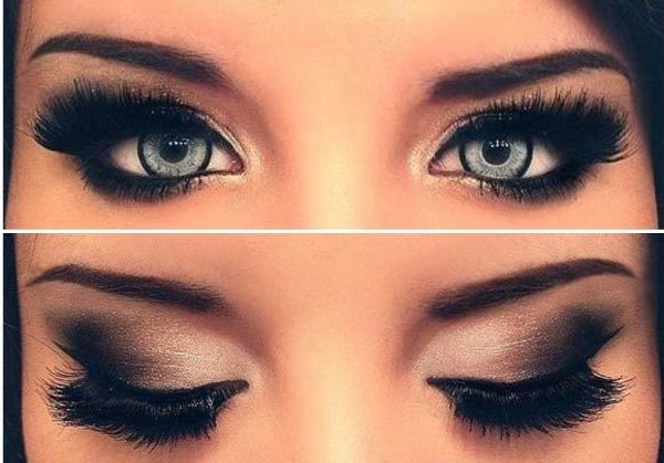 High-End Smoky Eyes