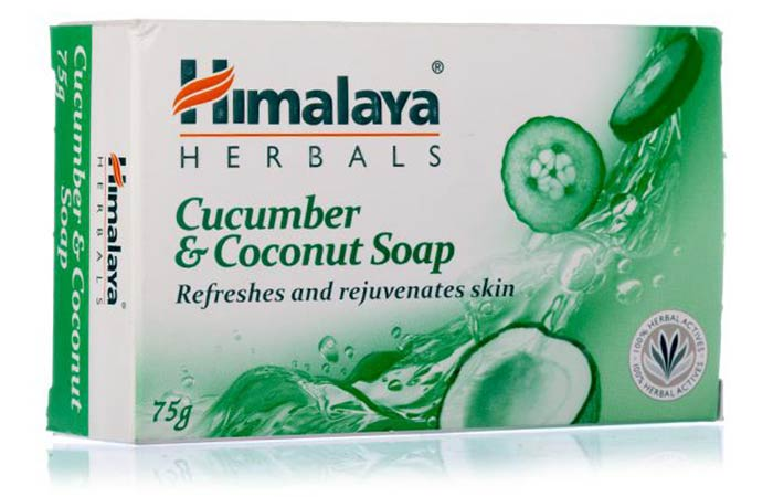 Himalaya Herbals Cucumber & Coconut Soap - Best Soaps For Oily Skin