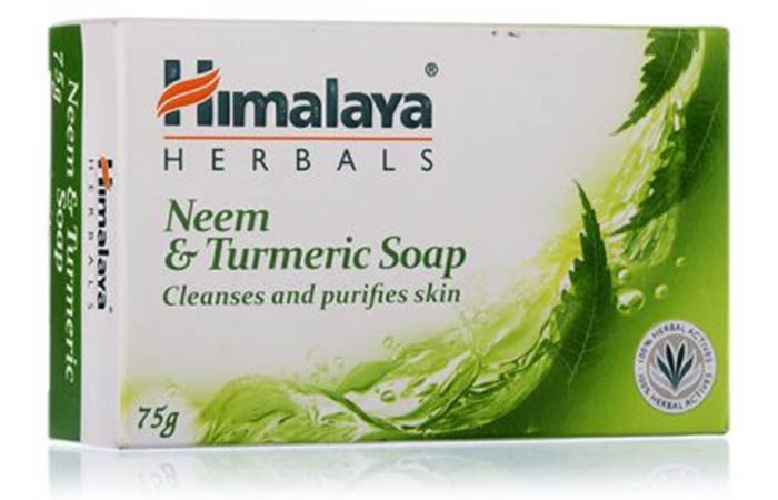 Himalaya Herbals Neem & Turmeric Soap - Best Soaps For Oily Skin