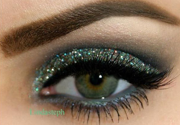 Hologram Glitter Eyes