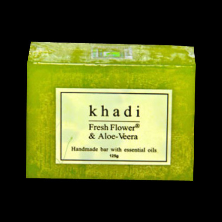 Khadi Fresh Flower Aloe-Vera soap