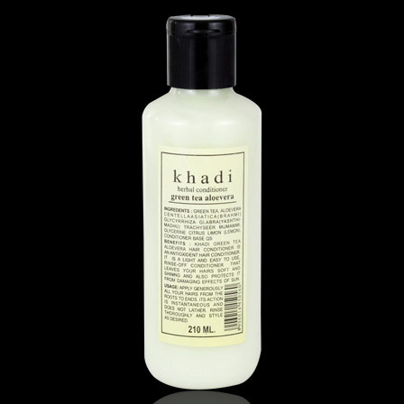 Khadi Green Tea Aloe Vera Hair