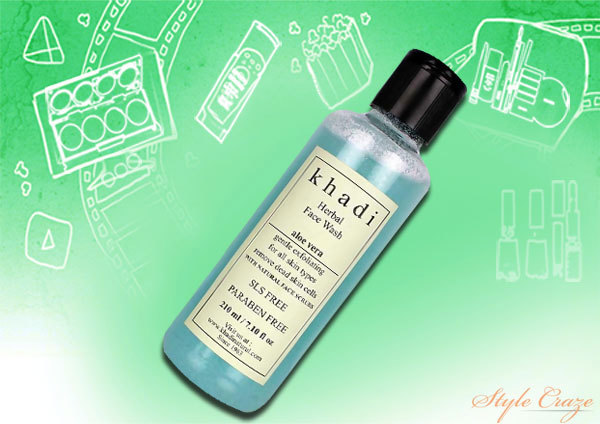 Khadi Herbal Aloe Vera Face Wash